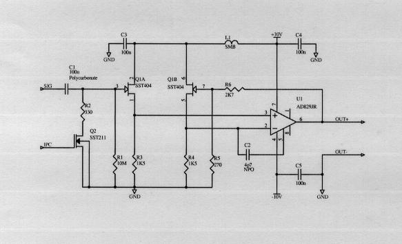 base preamplifier design